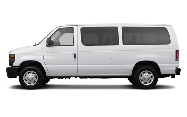8 PASSENGER Ford E350 Or Chevy 3500 Express VAN EXTRA LUGGAGE SPACE