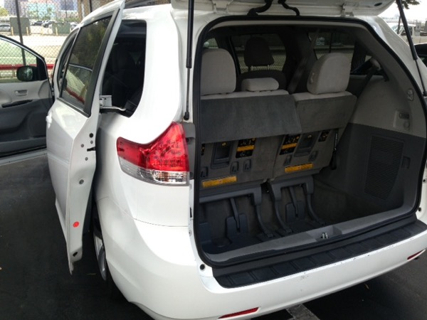 8 Passenger Minivan Rental Car Rental Uk Rental
