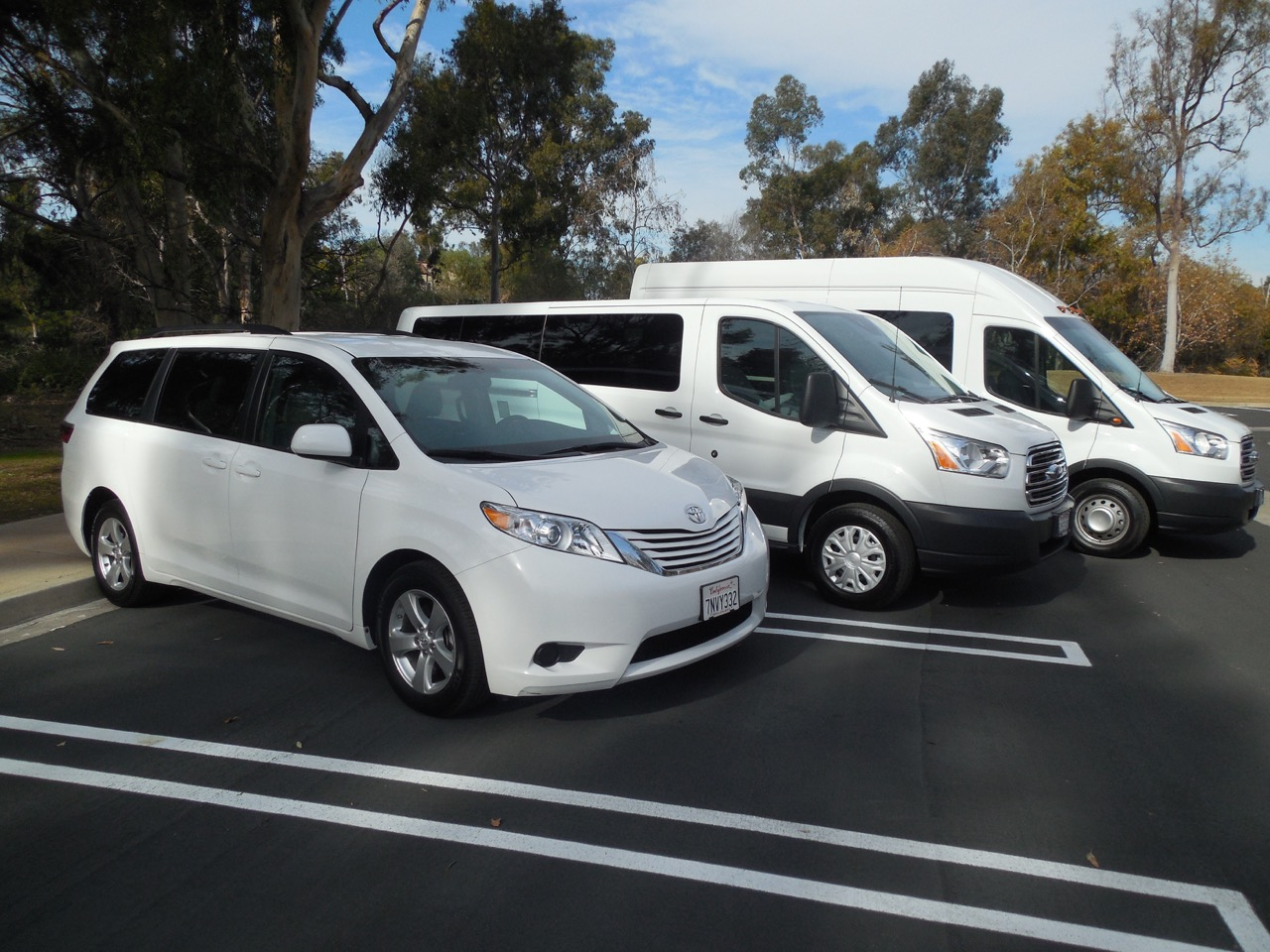 van rental Huntington Beach